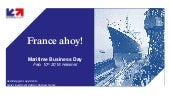 Maritime business day, February 10th 2016, presentation by Business France