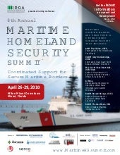 8th Annual Maritime Homeland Securi...