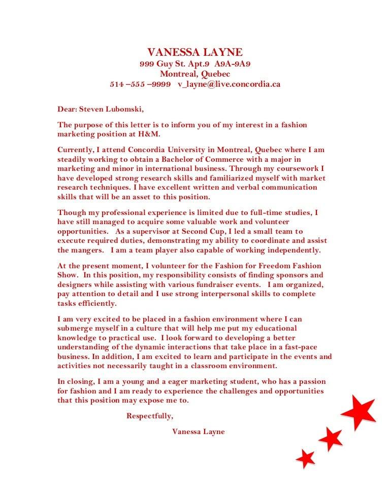 100% Original | Cover Letter For Hospitality Staff