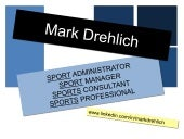 Mark Drehlich: Visual Resume