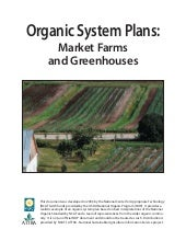 Organic System Plans: Market Farms ...