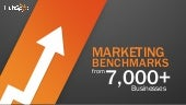 Marketing benchmarks from 7000-businesses