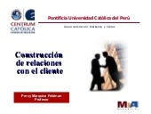 Marketing de Servicios - Relacion c...