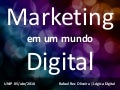 Palestra Marketing Digital - Midias Sociais e Marketing de Busca - Unip