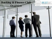 Banking & Finance Club- Marketing