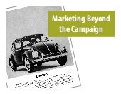 Marketing Beyond the Campaign – Utility, services, and engagement