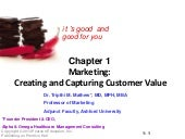 Marketing:Creating and Capturing Cu...