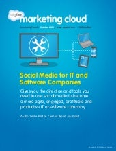 Social Media for IT and Software Co...