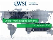 Marketing de contenu WSI