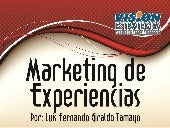 Marketing de Experiencias.