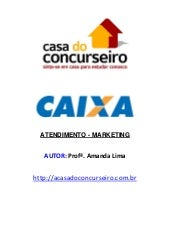 Marketing e atendimento   casa do c...
