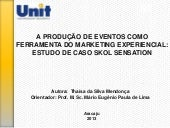 Marketing experiencial tcc