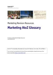 Marketing Glossary