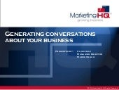 MarketingHQ Conversation Marketing