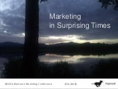 Marketing in Surprising Times: NAED ADventure Conference