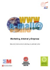 Marketing, internet y empresa