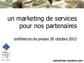 Marketing new services 2013 conf ...