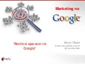 Curso de Marketing no Goog