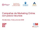 Marketing online con pocos recursos...