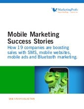 Marketing Profs - Mobile Marketing ...