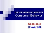 Consumer Behavior and Segmentation