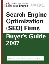 Marketing sherpa seo business listings