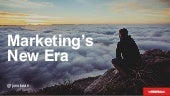 Marketing's New Era