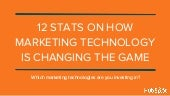 12 Stats on How Marketing Technology is Changing the Game