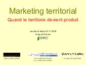 Marketing Territorial Quand Le Terr...
