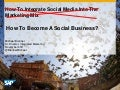 How to Become a Social Business