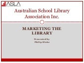 Marketing thelibrary