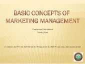 Webinar on Marketing Basics by IIM ...