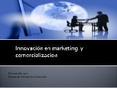 Innovación en marketing y comercial...