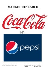 Market Research on Coca-Cola Vs. Pe...