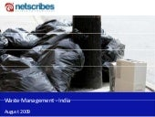 Market Research India - Waste Manag...