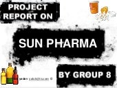 Market research on sun pharma limited