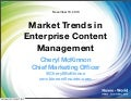 Nuxeo World Keynote: Market Trends in Enterprise Content Management