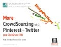 More CrowdSourcing with 