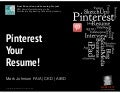Pinterest Your Resume!