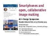 Smartphones and Open, Collaborative Image Making