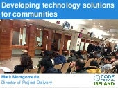 Developing technology solutions for communities