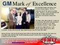 Canton GMC Dealer, Premier GMC receives the GM Mark Of Excellence Award