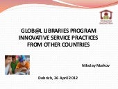 Global Libraries Program Innovative...