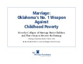 Marriage Poverty - Oklahoma