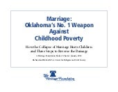 Marriage & Poverty: Oklahoma