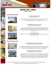 Marriott News   March 2011  Grant K...