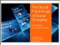 Social Psychology of Social Shopping: How Social Commerce Works