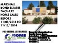 Marshall Bond Estates Zachary Louisiana Home Prices 2014