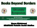 Diversity Symposium. Books Beyond Borders. Marshall University.
