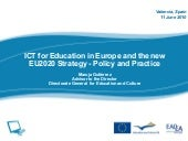 ICT for Education in Europe and the...